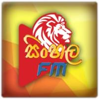 Logo of radio station SinhalaFM.LK