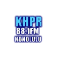 Logo of radio station KHPR Hawaii Public Radio
