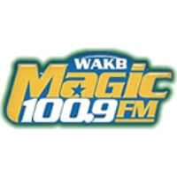 Logo de la radio WAKB Magic 100.9