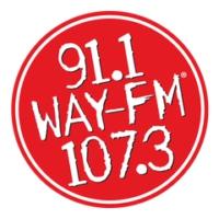 Logo of radio station NE AL's 91.1 & 107.3 WAY-FM