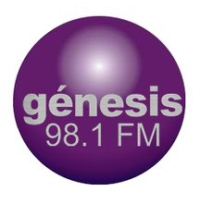 Logo of radio station Genesis 98.1 FM
