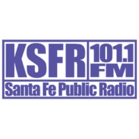 Logo of radio station KSFR Santa Fe Public Radio