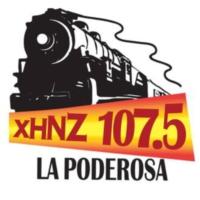 Logo of radio station XHNZ La Poderosa 107.5