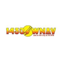 Logo of radio station WNAV 1430 AM