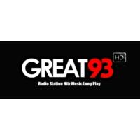Logo de la radio GREAT 93 (HD)