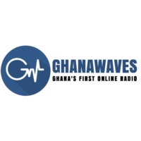 Logo of radio station Ghana Waves