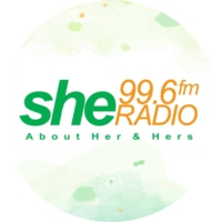 Logo of radio station She Radio FM