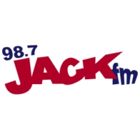Logo of radio station KPRF Jack FM 98.7