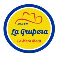 Logo of radio station La Grupera 89.3 FM