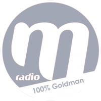 Logo of radio station M Radio 100% Goldman