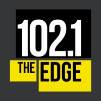 Logo de la radio 102.1 the Edge