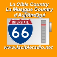 Logo of radio station La Cible Country