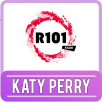 Logo of radio station R101 Katy Perry