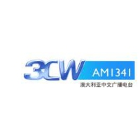 Logo of radio station 3CW Chinese Radio 1341 AM