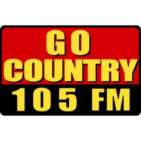 Logo of radio station KKGO Go Country 105