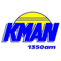 Logo of radio station KMAN 1350 am