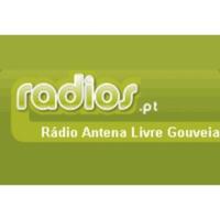 Logo of radio station Rádio Antena Livre Gouveia