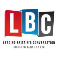 Logo of radio station LBC UK