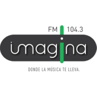 Logo of radio station Imagina 104.3 FM
