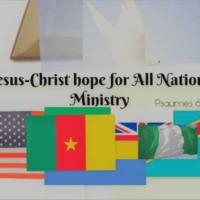 Logo of radio station Jesus hope for All Nations