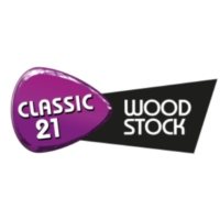 Logo de la radio Classic 21 - Woodstock (RTBF)