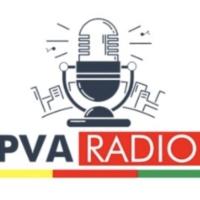 Logo of radio station P.V.A-RADIO