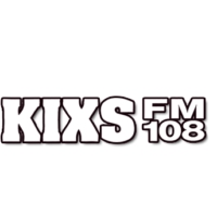 Logo of radio station KIXS 108 FM