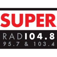 Logo of radio station Super FM 104.8
