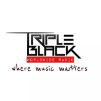 Logo of radio station Triple Black Radio
