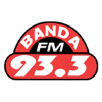 Logo of radio station Banda FM 93.3