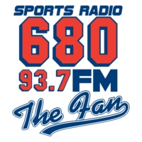 Logo of radio station 680 The Fan