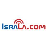 Logo of radio station IsraLA