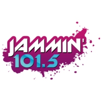 Logo of radio station KJHM Jammin' 101.5
