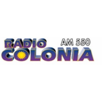 Logo de la radio Colonia 550 AM