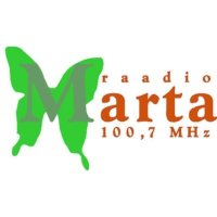 Logo of radio station Raadio Marta