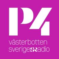 Logo de la radio Sveriges Radio - P4 Västerbotten