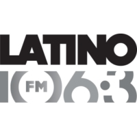Logo of radio station KBMG Latino 106.3 FM