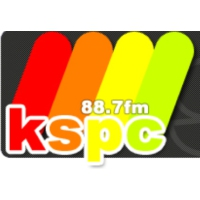 Logo of radio station KSPC Pomona College 88.7 FM