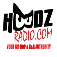Logo of radio station Hoodz Radio