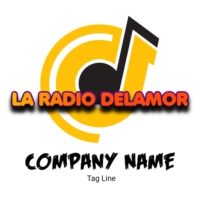 Logo of radio station la radio del amor