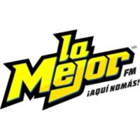 Logo of radio station La Mejor 95.5 FM