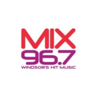 Logo of radio station Mix 96.7