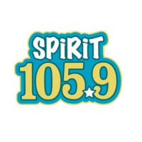 Logo of radio station KFMK Spirit 105.9