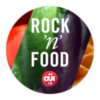 Logo de la radio OUI FM Rock'n'Food
