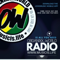 Logo of radio station Organixx_World Radio