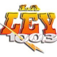 Logo of radio station KRQK La Ley 100.3