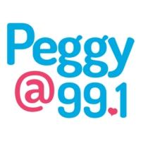 Logo of radio station Peggy 99.1