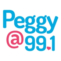 Logo of radio station Peggy 99.1