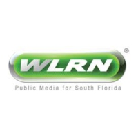 Logo of radio station WLRN NPR 91.3 FM