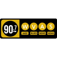 Logo of radio station WVAS-FM 90.7